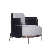 Minotti Tape Fabric Armchair av Nendo